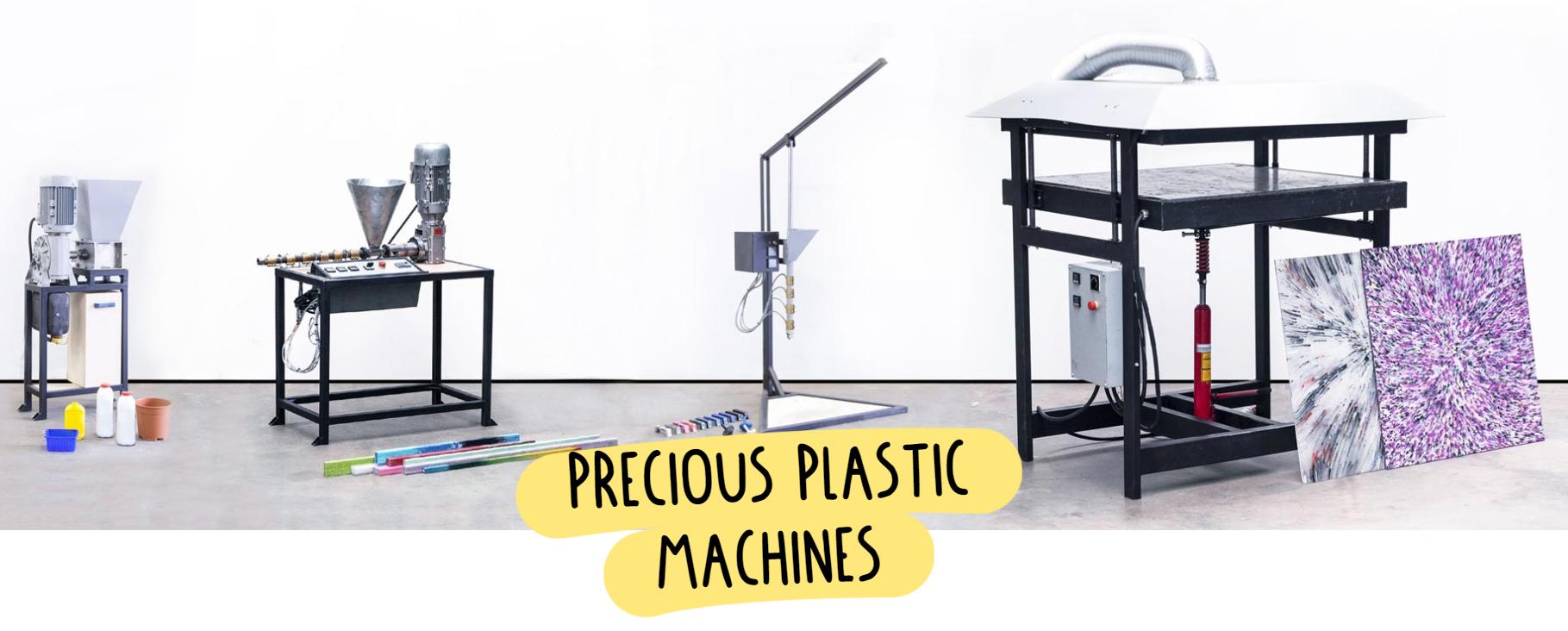 Maquinas precious plastic