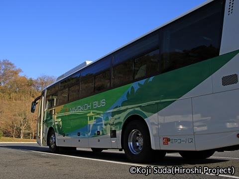 ミヤコーバス「仙台気仙沼線」 2973 ミヤコーバス「仙台気仙沼線」 2973 矢本PAにて_04