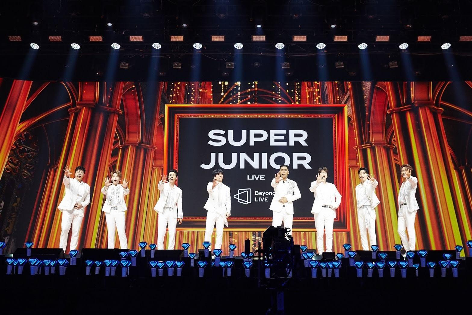 SUPER JUNIOR 線上直播演唱會「Beyond the SUPER SHOW」  帶來多首經典熱門歌曲!