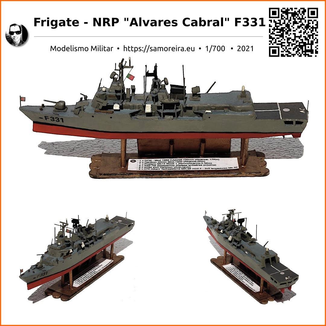 Frigate - NRP Alvares Cabral F331