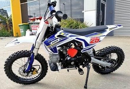 110cc Mini Moto25 Kids Semi Auto Dirt Bike