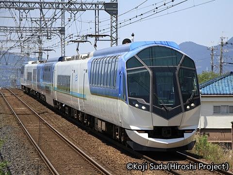 近畿日本鉄道 50000系「しまかぜ」_01 松塚にて