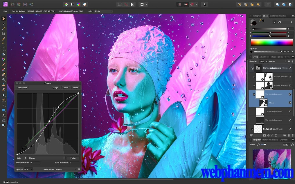 Affinity Photo for mac Full Crack