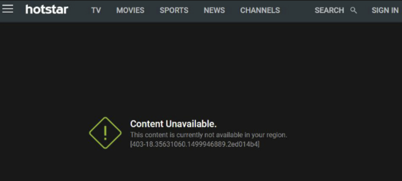Content Unavailable. This content is currently not available in your region.