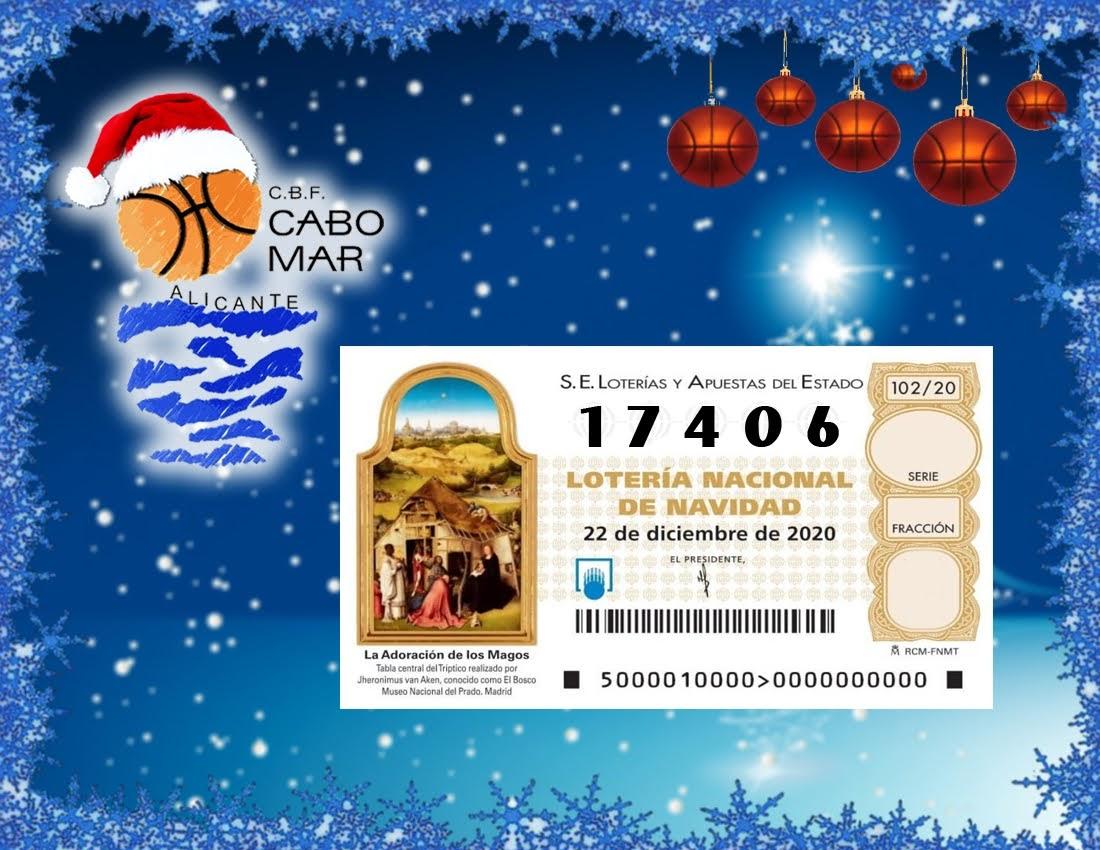 Lotería de navidad 2020 – Nº 17406