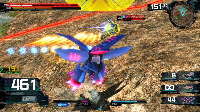 キュベレイMk-II(プル・ニュータイプ能力) N特殊格闘