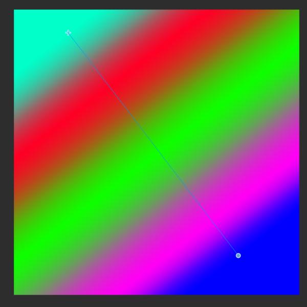 クリスタのグラデーション(3色以上)
