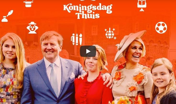 Koningsdag 2020: dat vier je thuis