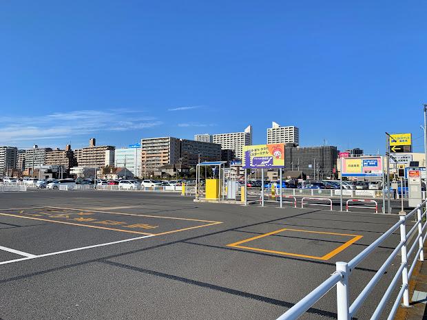 BUSTLE海老名 海老名駅方面を見た風景