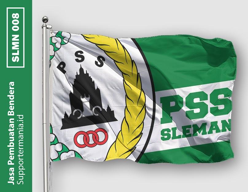 Desain Bendera atau Mini Flag PSS Sleman dan BCS 8