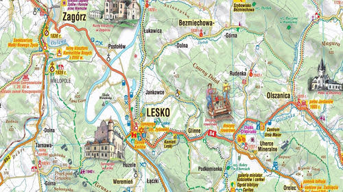 Skąd brać mapy turystyczne + mapy online