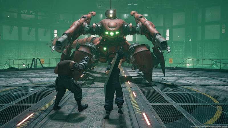 Hình con boss đầu tiên của games - Scorpion