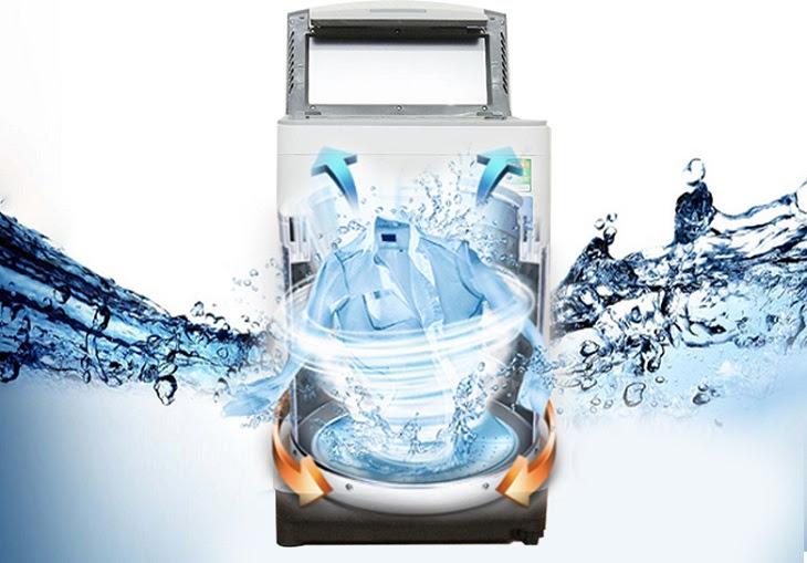 Máy giặt Panasonic có chế độ sấy gió