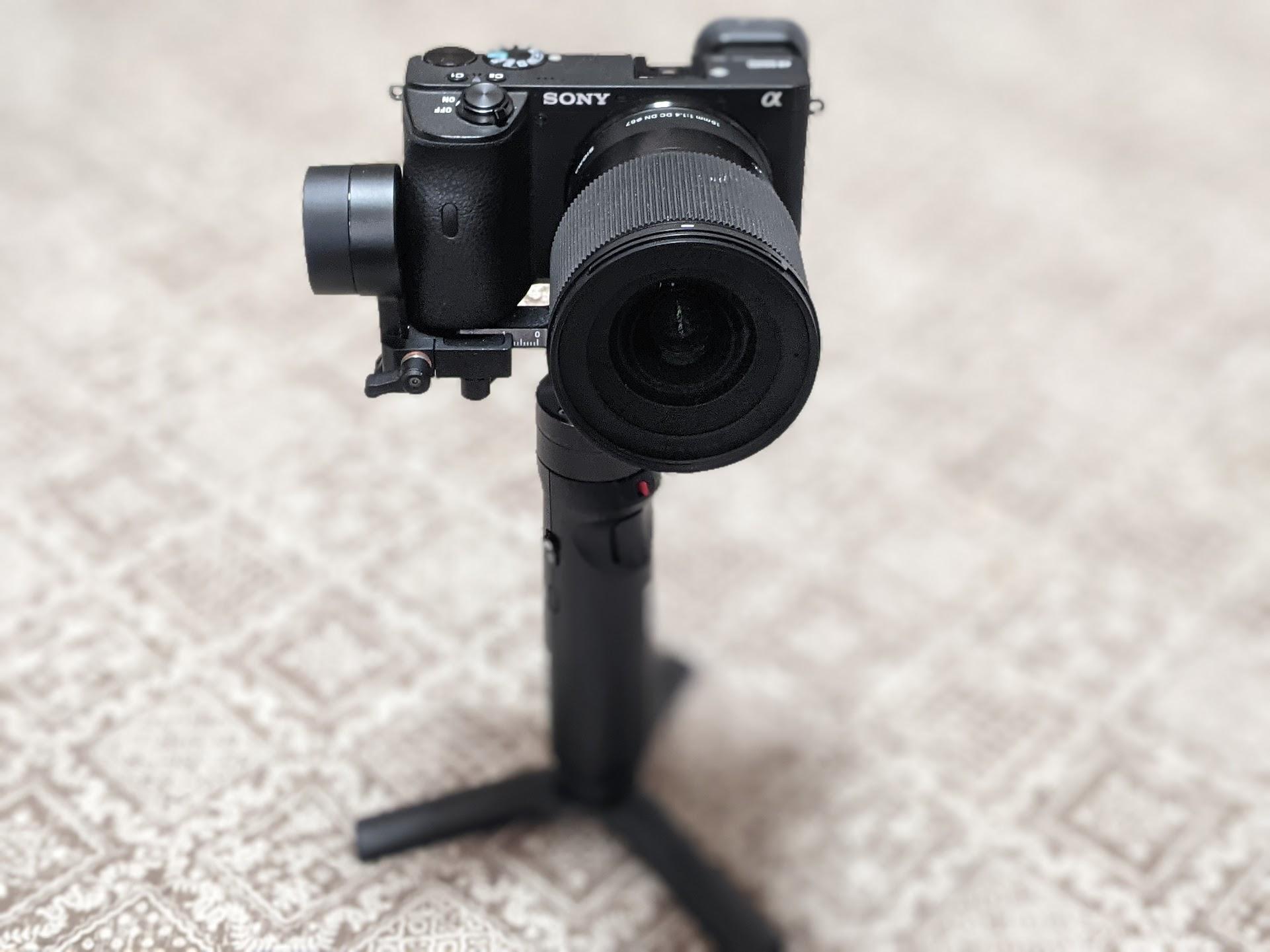 【無謀な挑戦】α6600+SIGMA 16mm F1.4は小型ジンバルZhiyunCrane-M2に乗るのか、意外な結果!