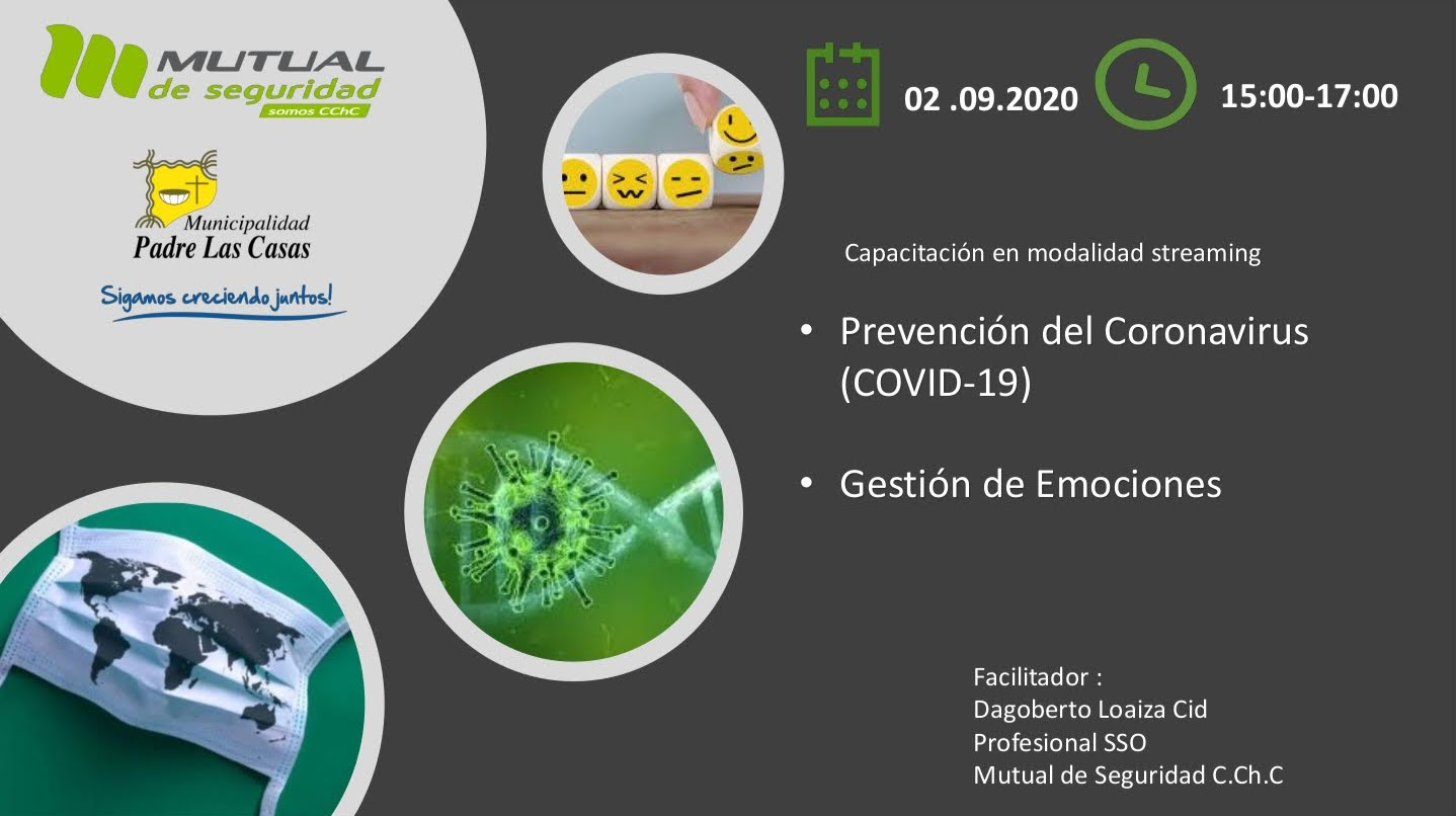 Capacitación «Prevención del Coronavirus Covid-19» y «Gestión de Emociones»