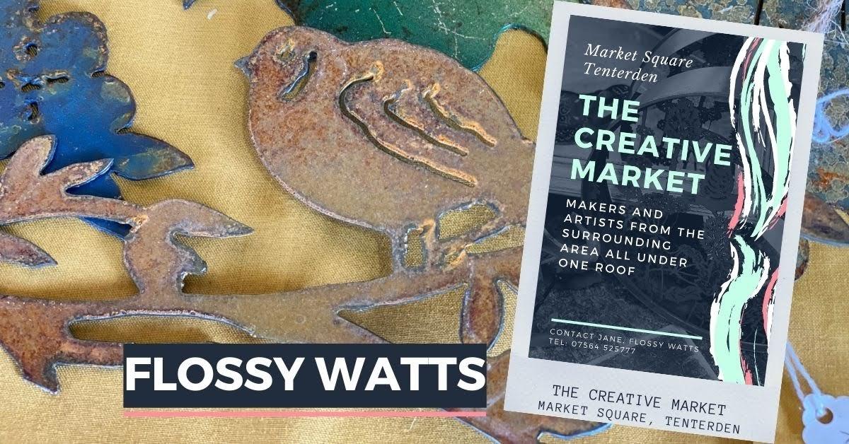 FLOSSY WATTS at Tenterden Creative Market