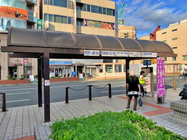 盛岡駅前東口バスターミナル10番のりば