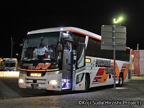 南海バス「サザンクロス」長岡・三条線 ・518 草津PA第二駐車場にて_01