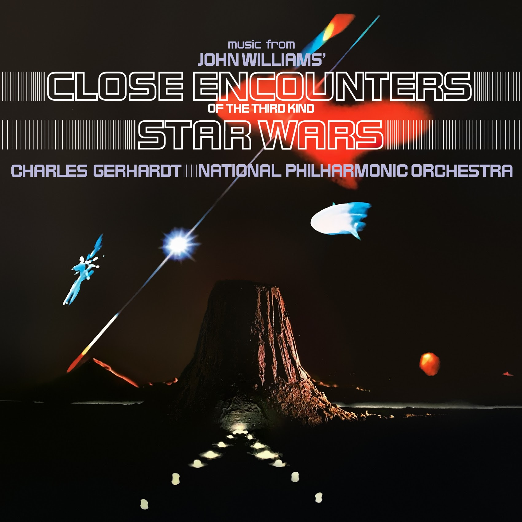Album Artist: Charles Gerhardt & National Philharmonic Orchestra / Album Title: Music from John Williams' Close Encounters of the Third Kind & Star Wars