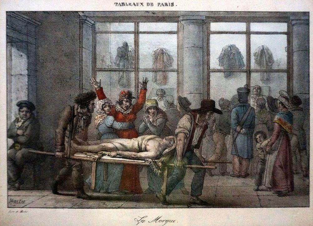 La Morgue, o espetáculo da morte no necrotério de Paris