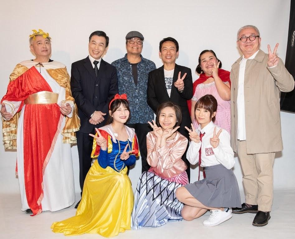 漫畫大師 蕭言中 名作改編音樂情境秀《 童話秀逗秀 》明年登場