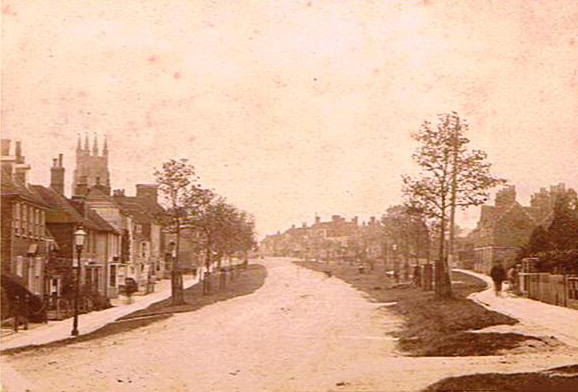 Tenterden High Street looking east 1894