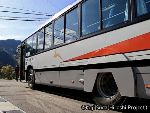 奈良交通「八木新宮線ツアー」 ・938 上野地にて_04