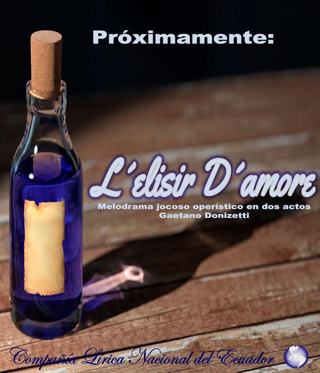 Lelisir Damore COLINEC MISIONARTE AFICHE