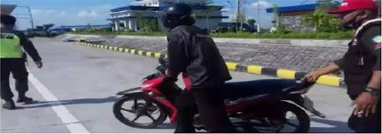 Exit Tol Ngawi di Ngawi Jawa Timur