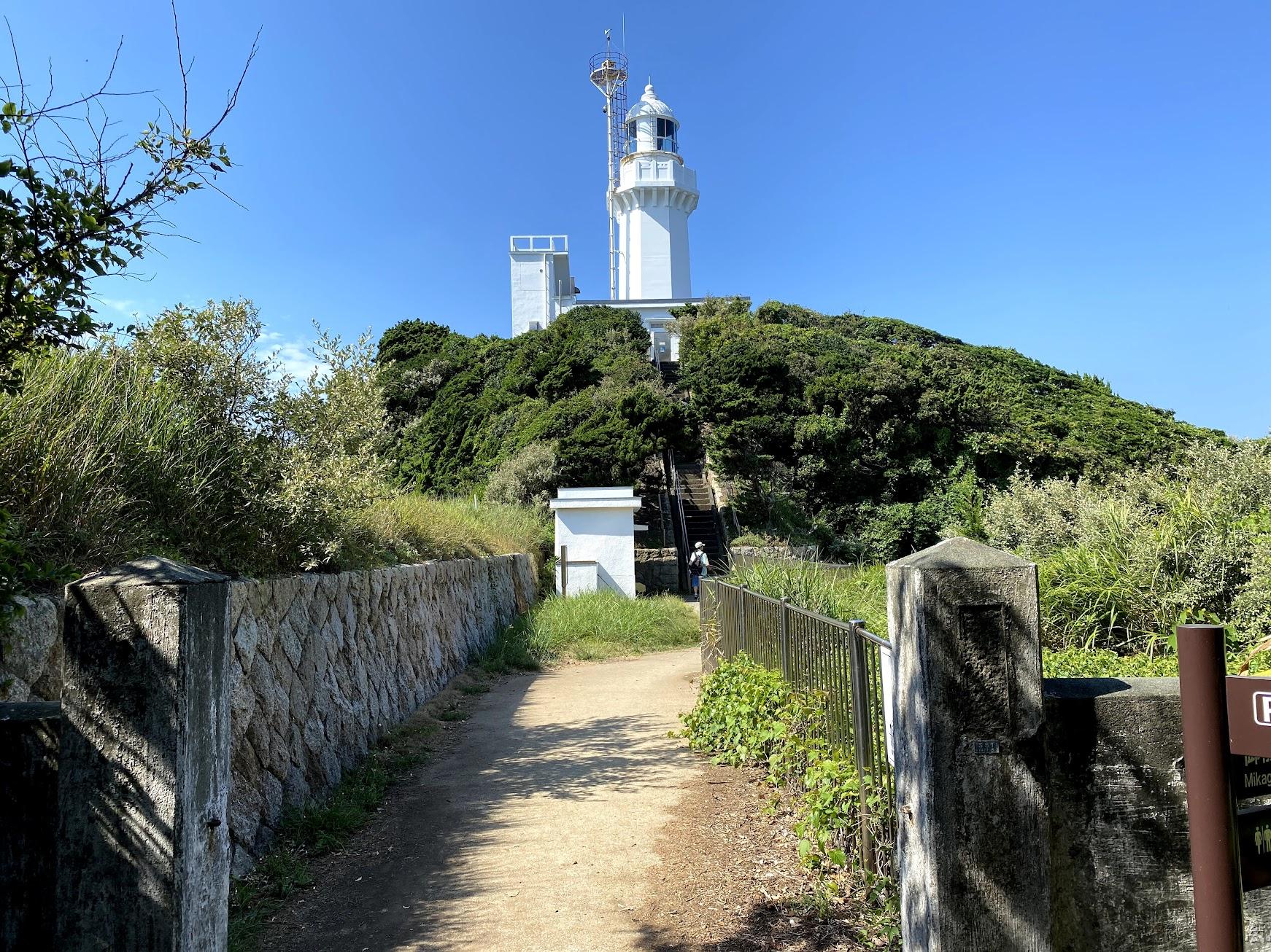 佐田岬灯台に到着