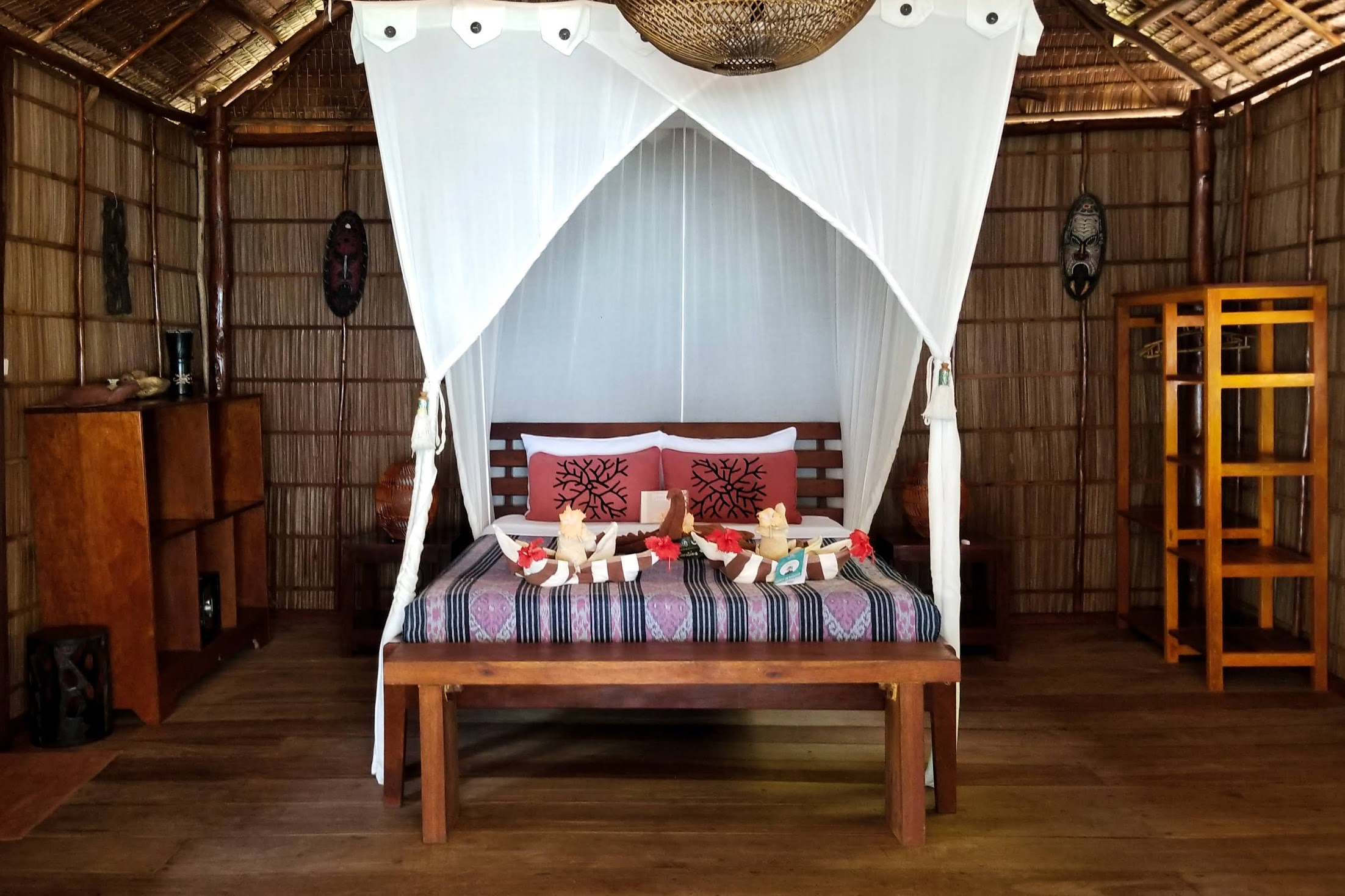Our room at Biodiversity Eco-Resort