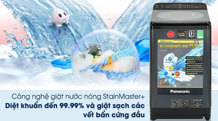 Công nghệ giặt nước nóng StanMaster+