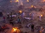 Kremasi Massal Imbas Tsunami COVID-19 Hantam India, Banyak Meninggal saat Menunggu Kamar Kosong