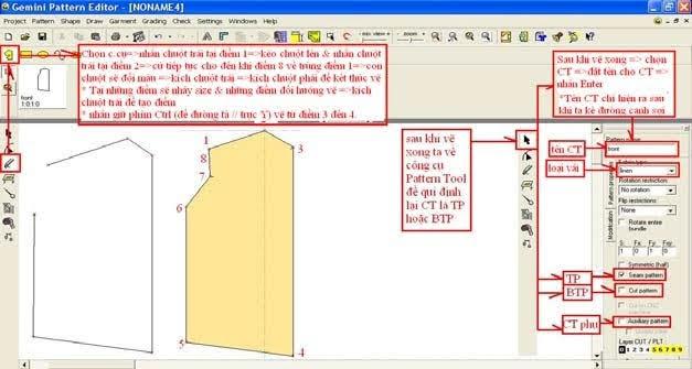 Gemini Pattern Editor Chức Năng Các Lệnh – Phần 4 4