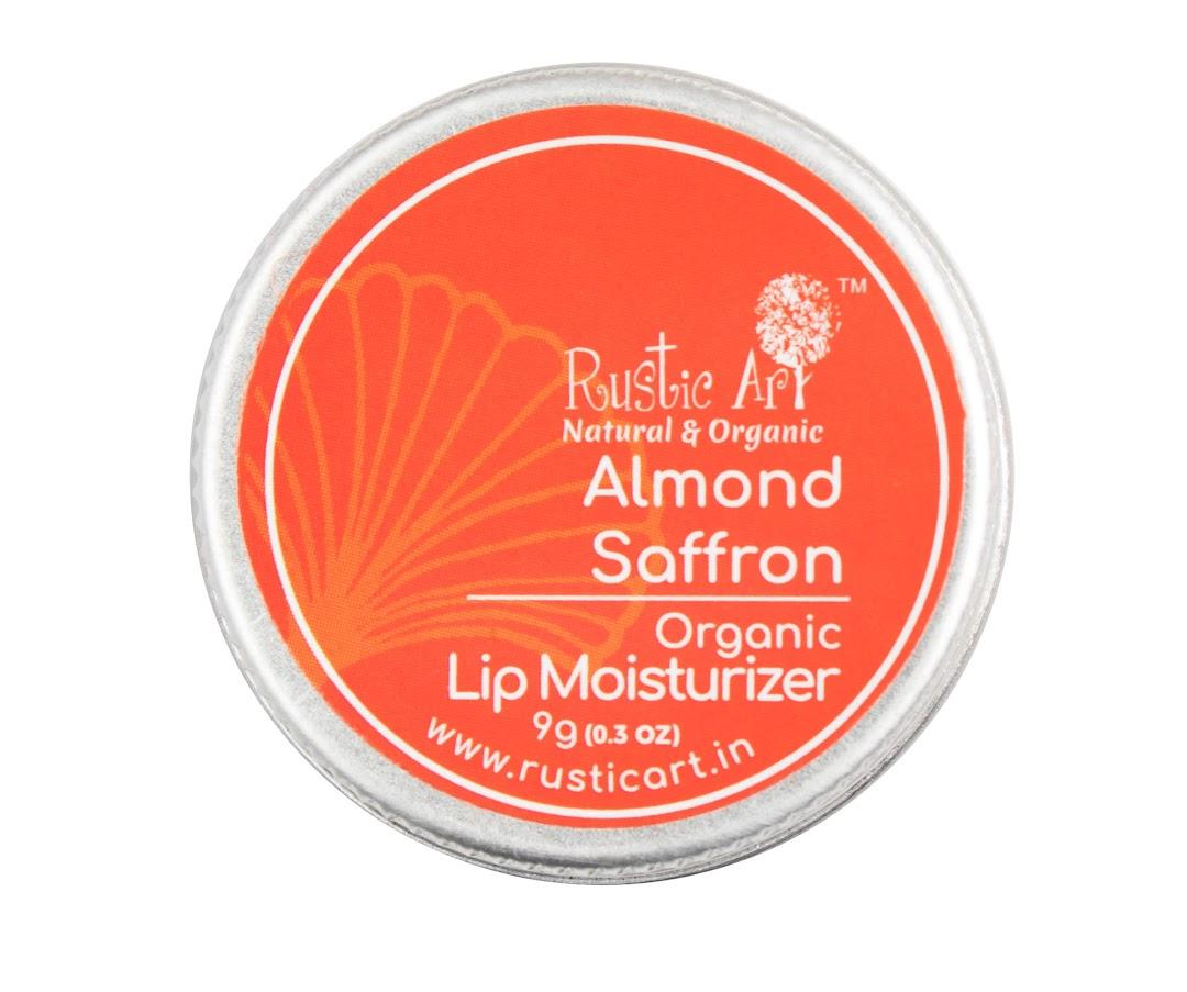 Rustic Art Almond Saffron Lip Moisturizer