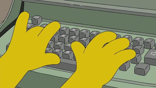 Los Simpsons 28x16  22 para 30
