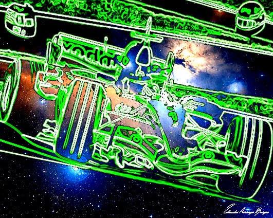 Arte Digital Enviado a Create futuristic dystopian artwork inspired by cyberpunk Artista Lalinchi Arreaga Burgos E.E.A.B