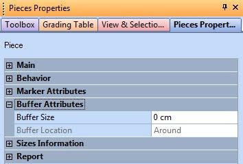 Piece Properties Trong Optitex 4