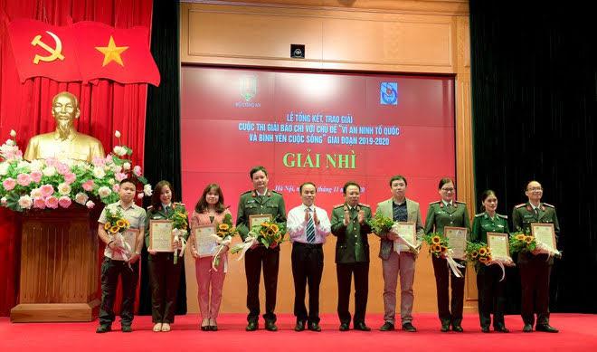8 Nhóm tác  giả và tác giả đạt giải Nhì