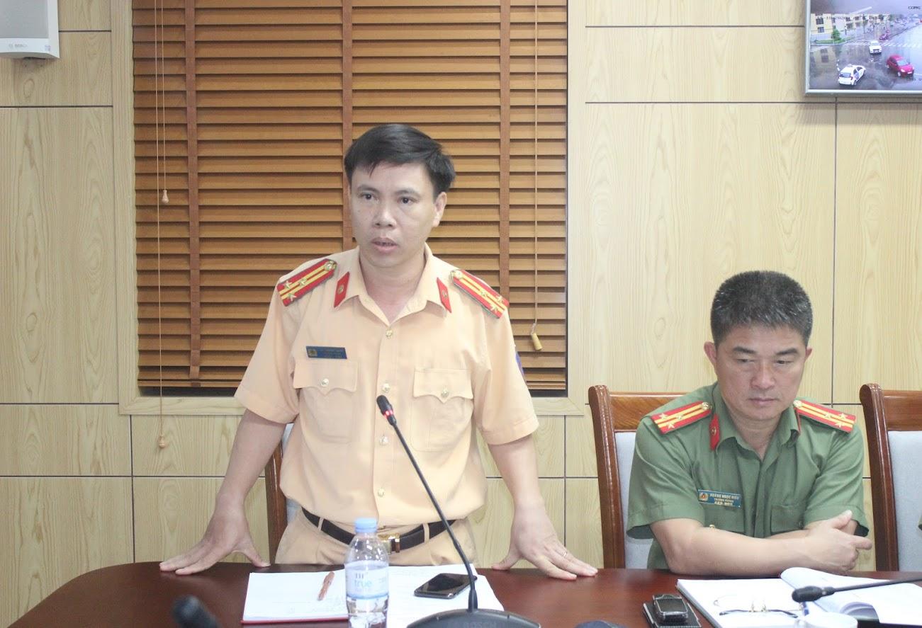 Lãnh đạo một số phòng nghiệp vụ phát biểu tại Hội nghị