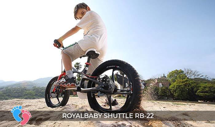 Xe đạp trẻ em Royal Baby Shuttle RB-B22 14