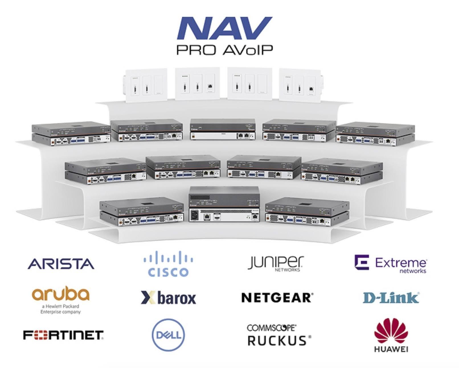 Extron NAV Pro AV over IP (AVoIP) Validated Network Switches
