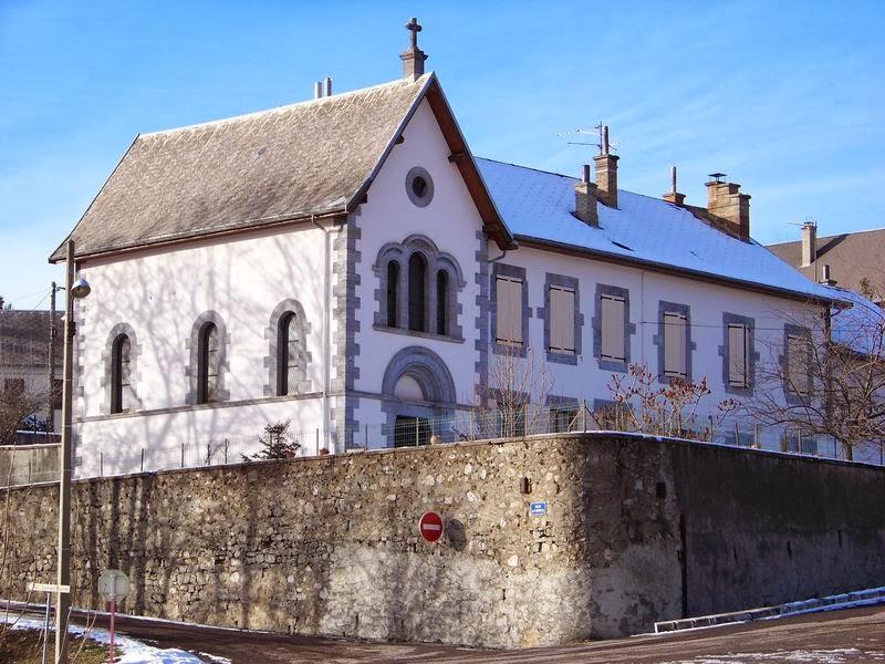 L'ancien hopital de la Motte d'Aveillans
