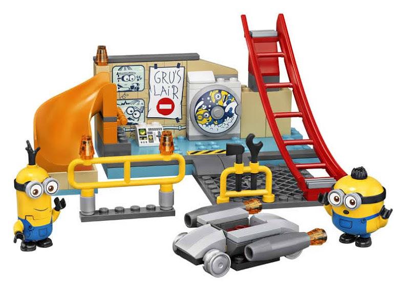 Contenido de LEGO® 75546 Minions en el Laboratorio de Gru