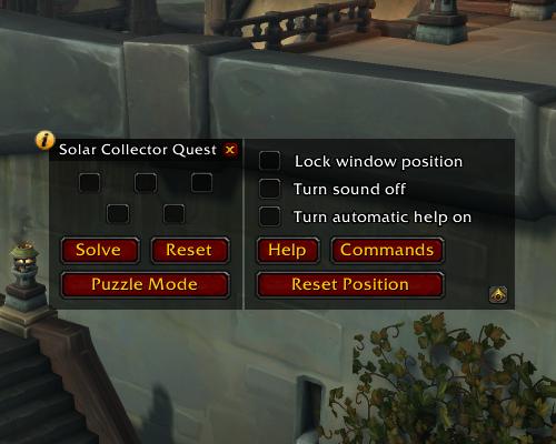SolarCollector Configuration.