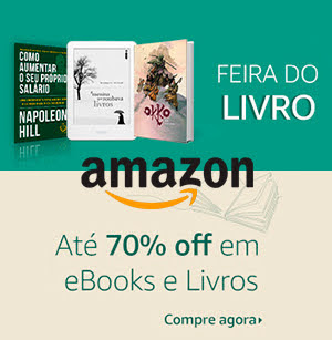 Livros e ebooks com desconto Amazon