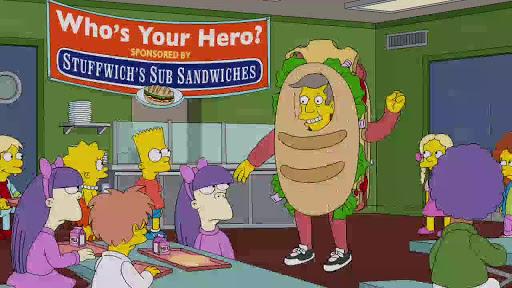 Los Simpsons 25x16 No tienes que vivir como un árbitro