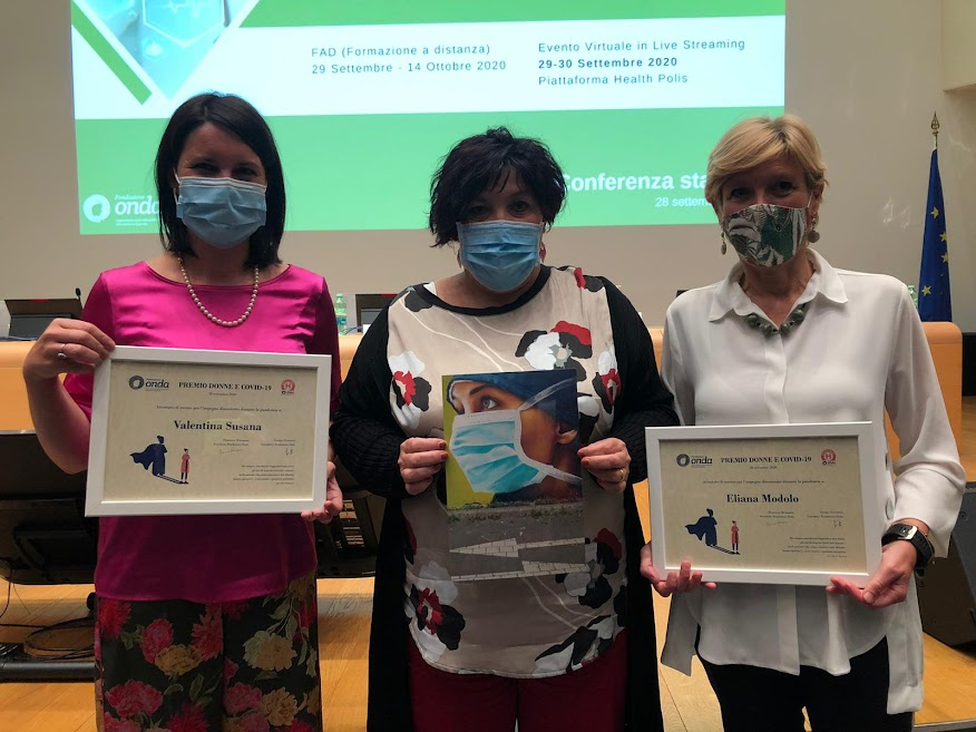 Premio Fondazione Onda 2020 donne ULSS Dolomiti