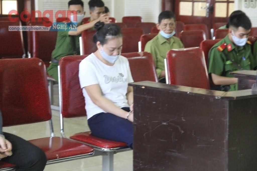 Bị cáo Cao Thị Thành Vinh