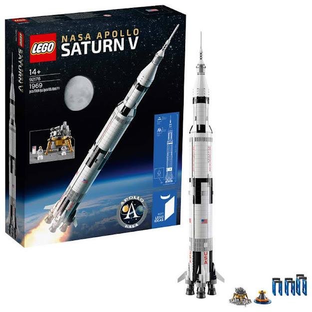 Contenido de LEGO® 92176 LEGO® NASA: Apolo Saturno V